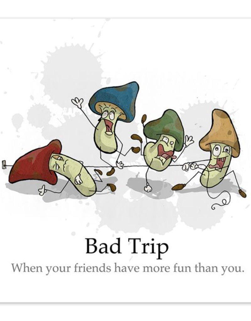 Bad Trip - 8x8 Print