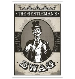 The Gentleman's Swag - 8x12 Print