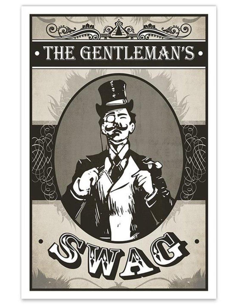 The Gentleman's Swag - 8x12 Print