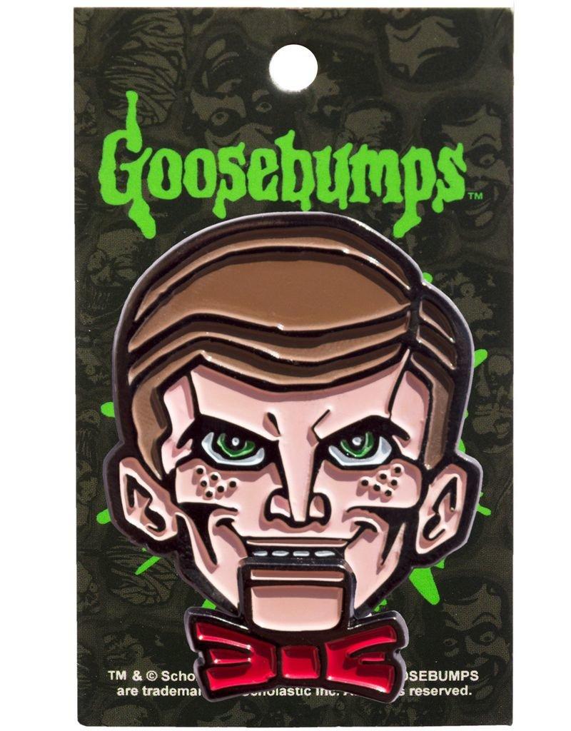 Goosebumps Slappy Dummy Enamel Pin