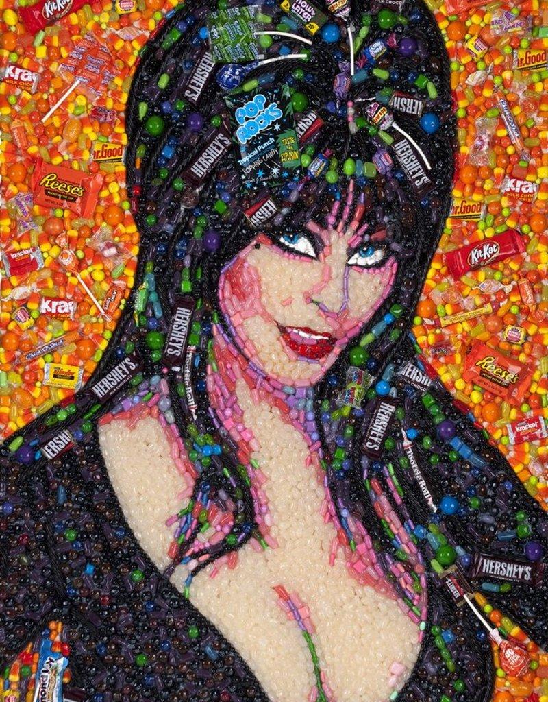 Candylebrity Artwork (26x38) - Elvira, Mistress of the Dark