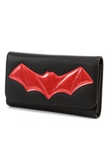 Elvira After Midnight Wallet - Red Bat