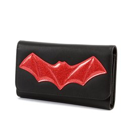 Elvira After Midnight Wallet - Red Bat