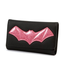 Elvira After Midnight Wallet - Pink Bat