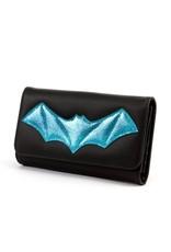 Elvira After Midnight Wallet - Blue Bat