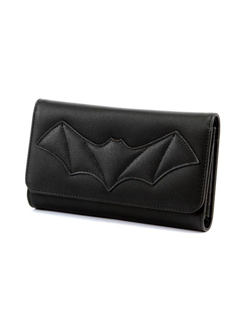 Elvira After Midnight Wallet - Black Bat