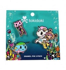 Tokidoki - Sea Punk Enamel Pin (3pk)