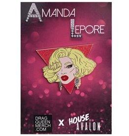 Amanda Lepore Enamel Pin