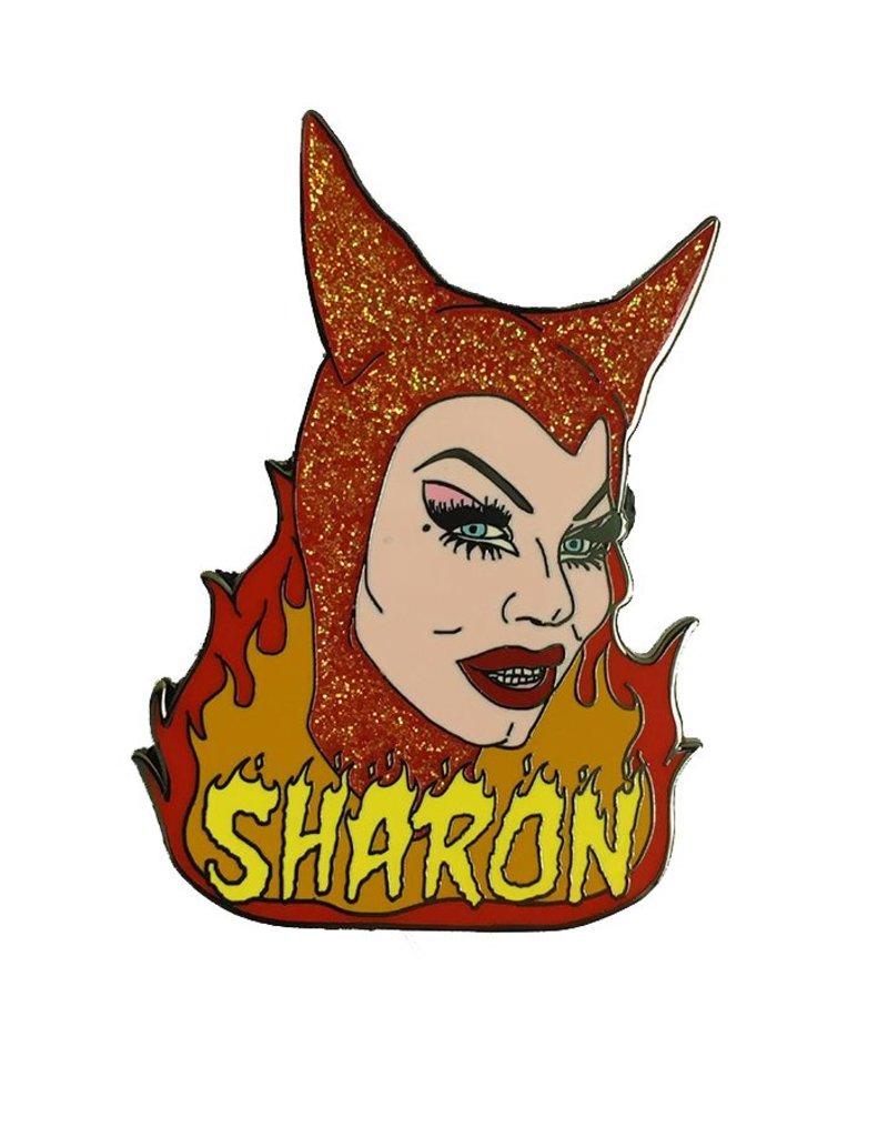 Sharon Needles Enamel Pin