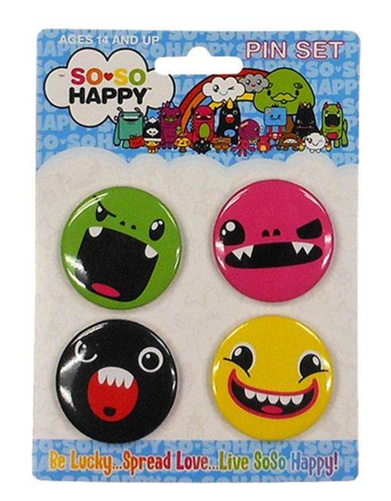 Tribe Face Button Set
