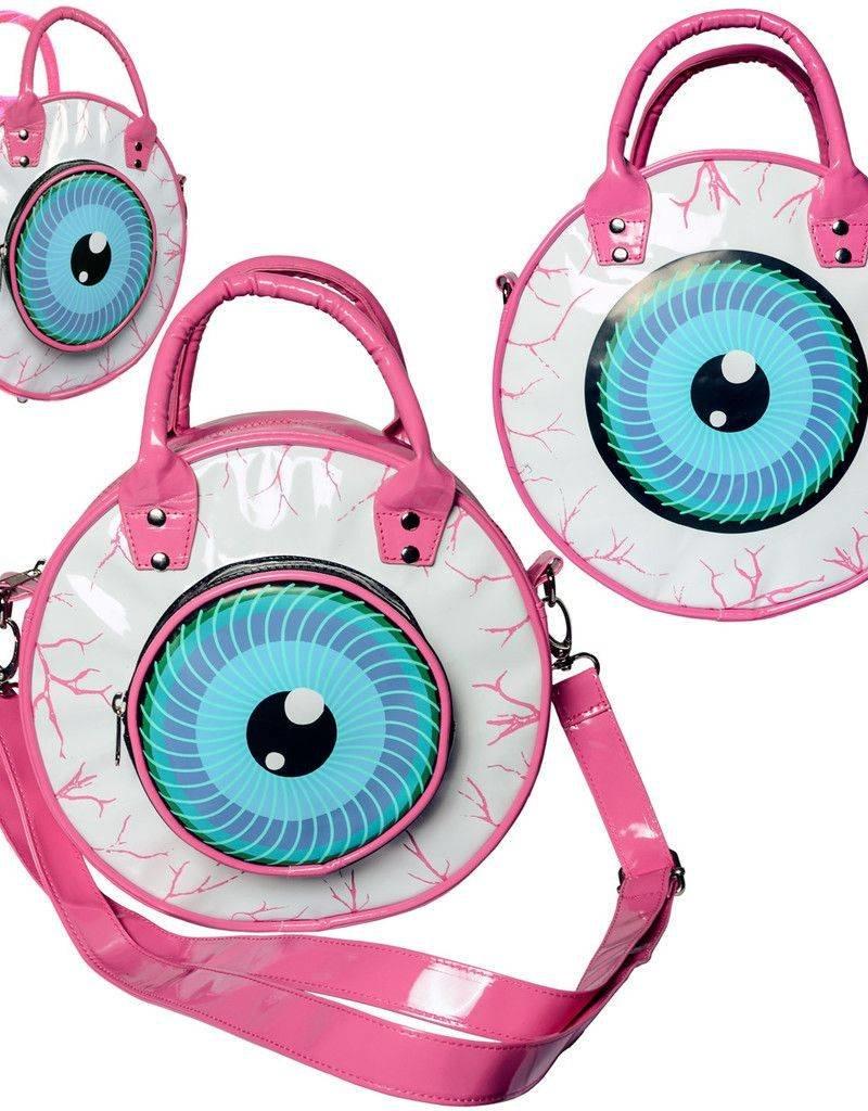 Eyeball Bag - Pink
