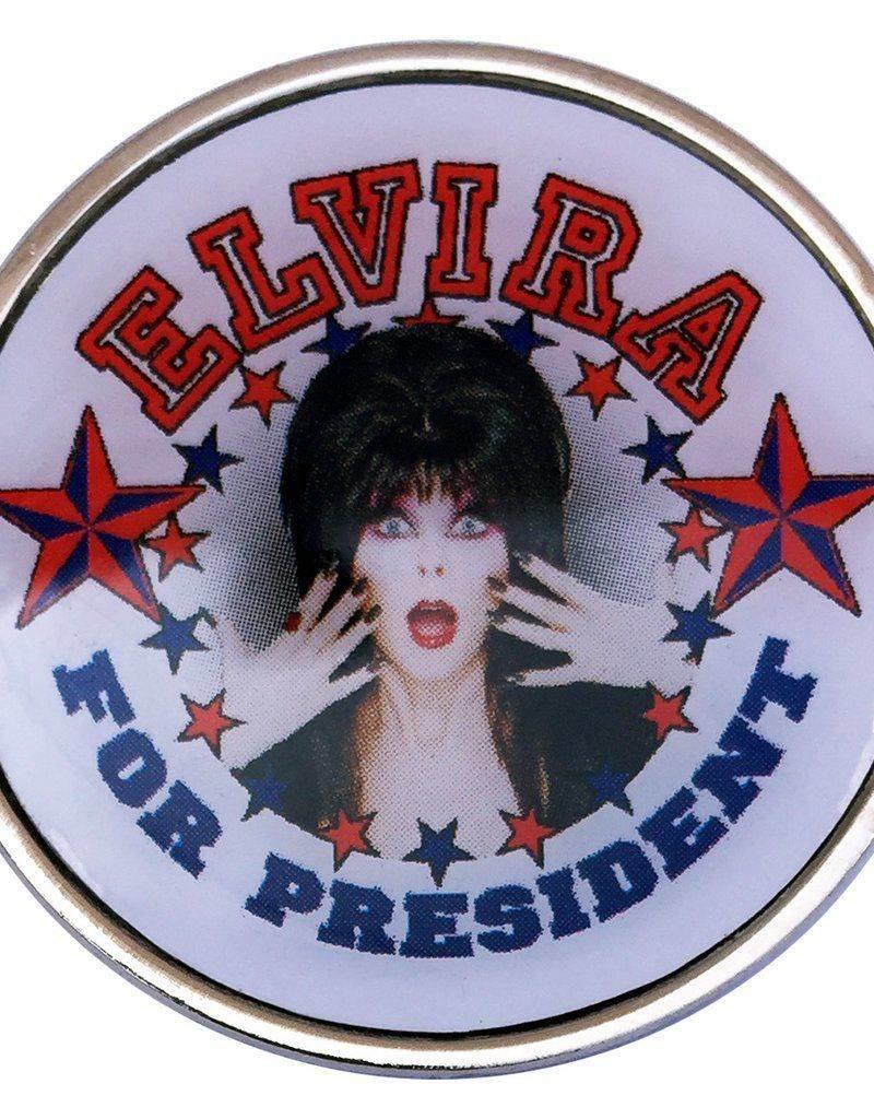 Elvira For President Pin