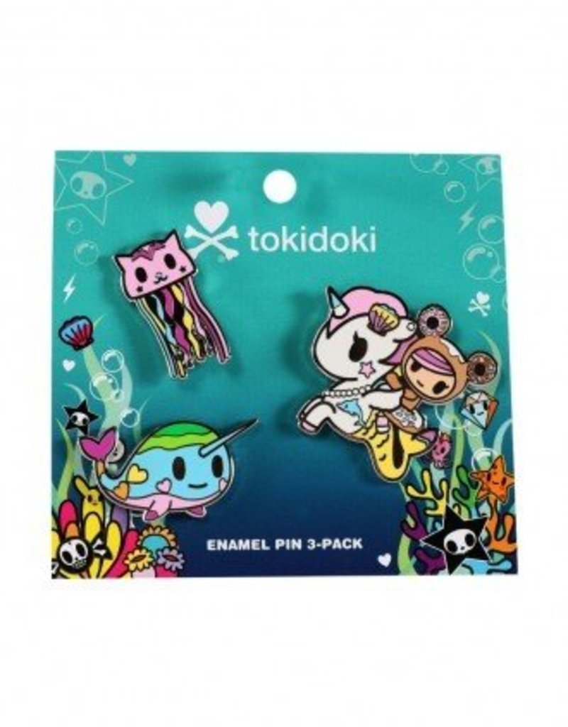 Tokidoki - Sea Punk Enamel Pin (3pk)