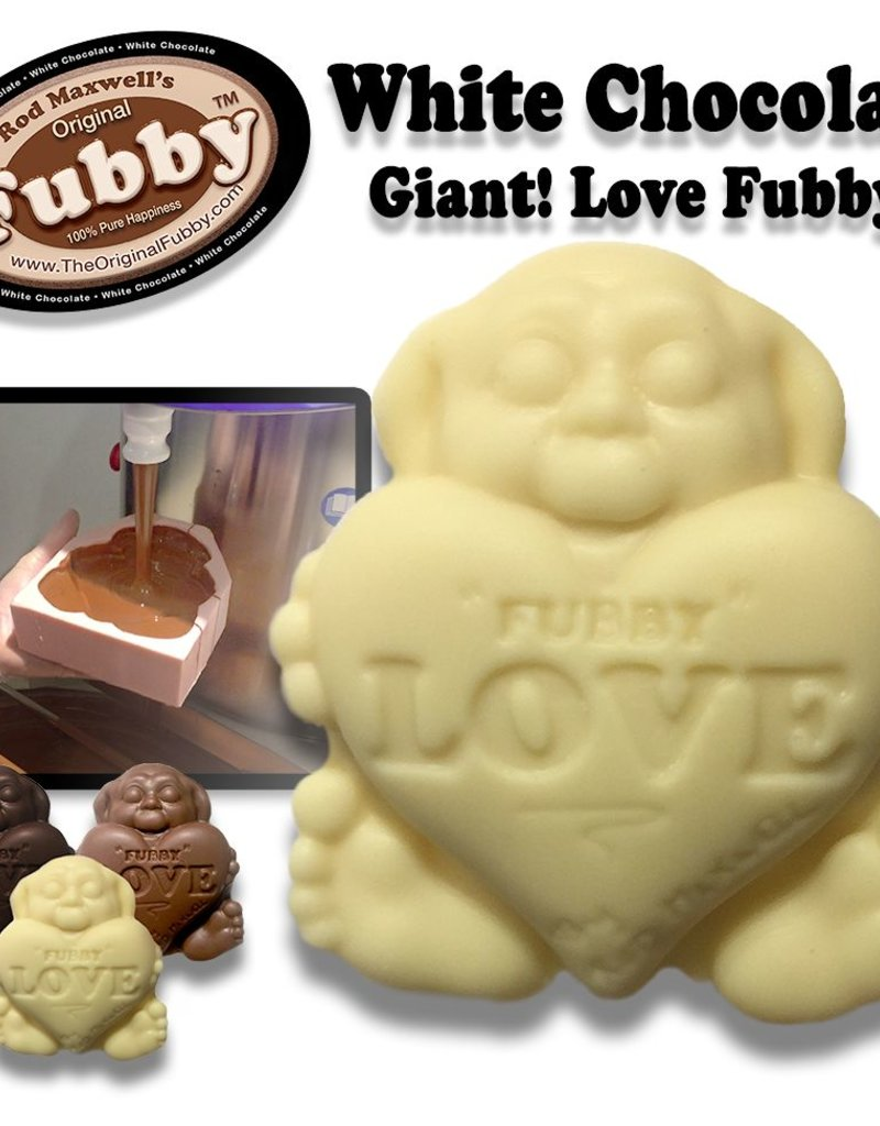 Rod Maxwell's Fubby Love - White