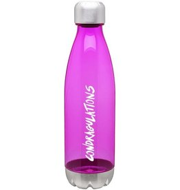 Rupaul Condragulations Pink Water Bottle