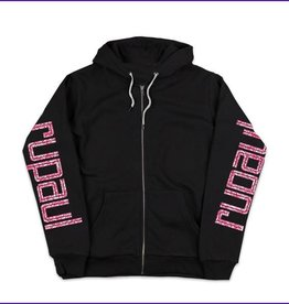 Rupaul Glitter Black Zip Up