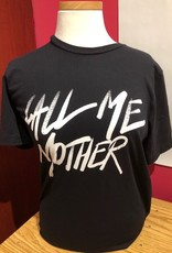 Rupaul Call Me Mother White Text Tee