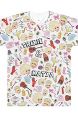 Trixie & Katya Sublimated Collage Tee