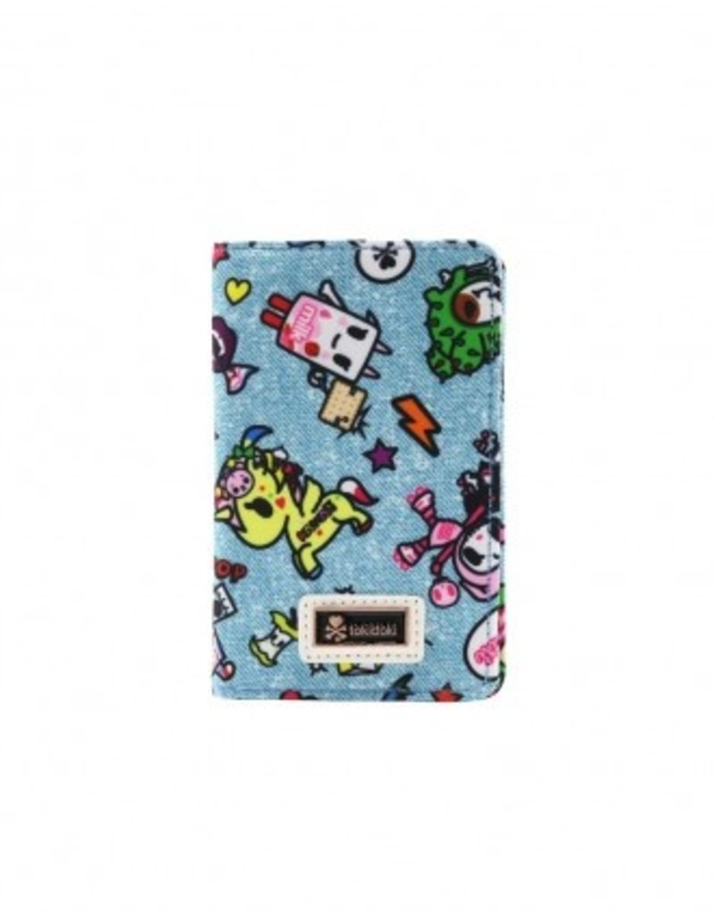 Tokidoki - Denim Daze Small Fold Wallet