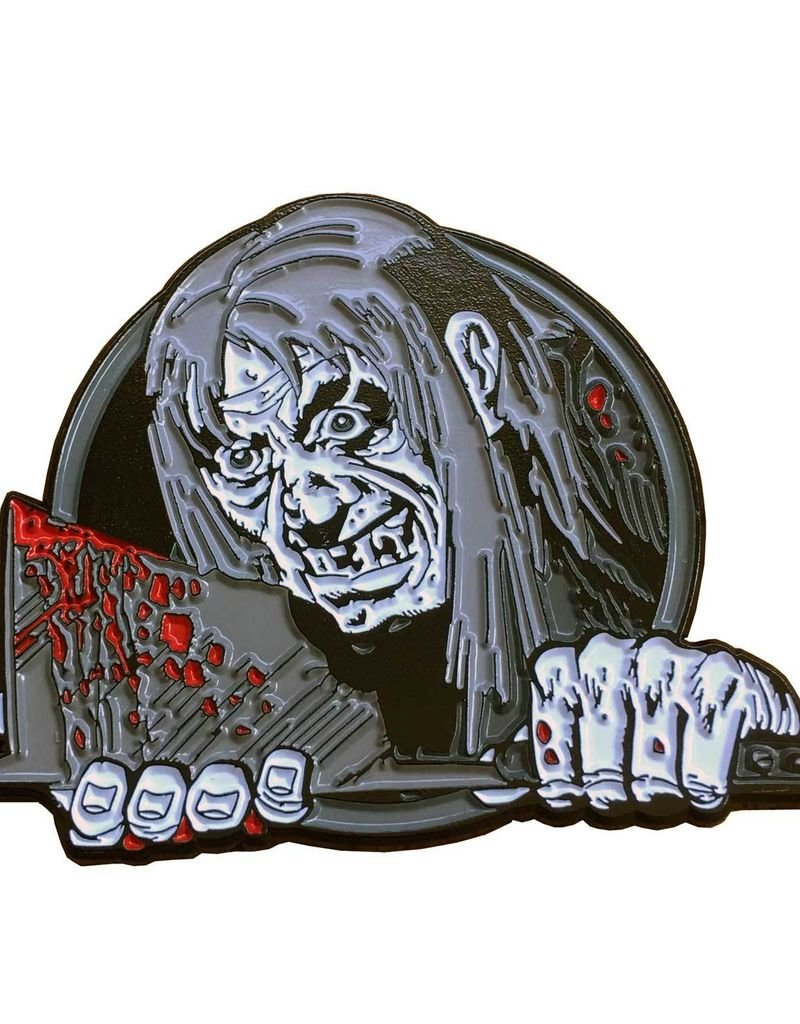Tales From The Crypt Keeper Axe Enamel Pin Badge