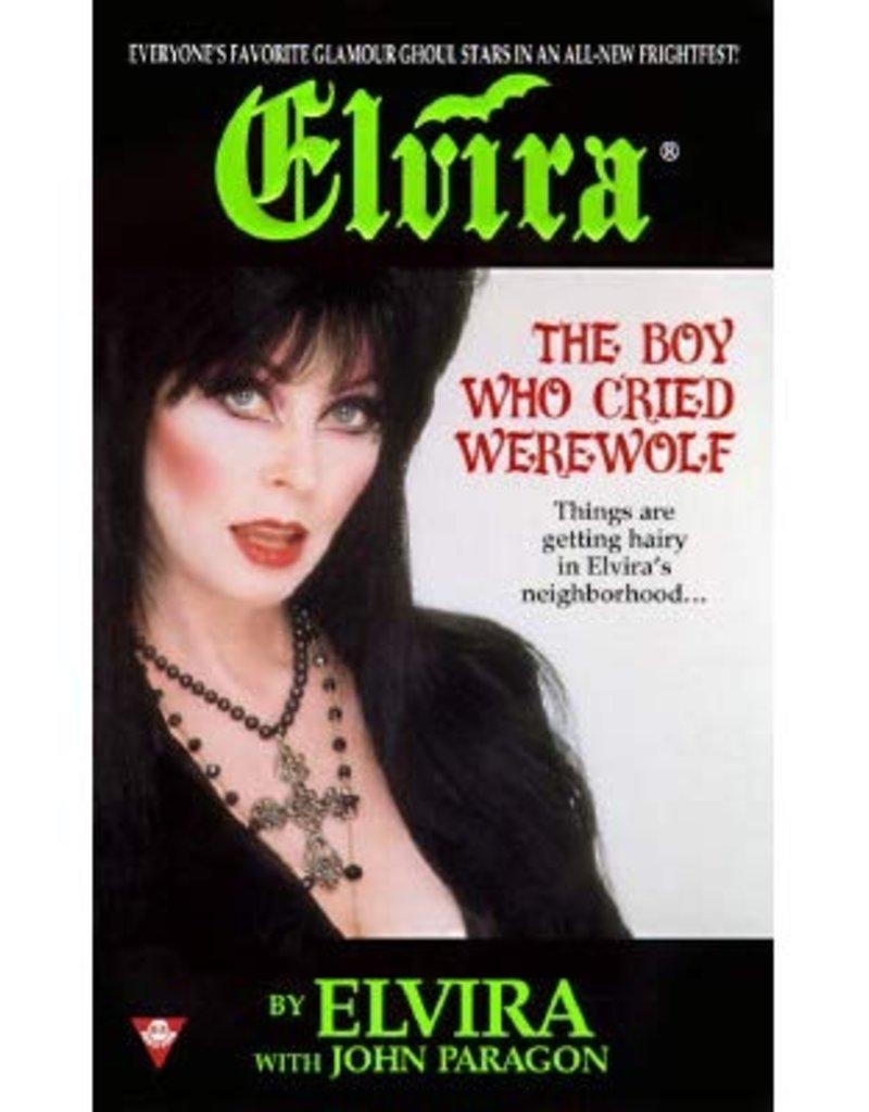 Elvira Boy Who Cried Werewolf Book