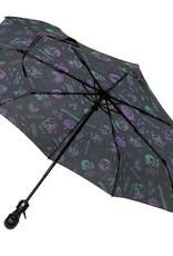kreepsville 666 Skull Handle Umbrella - Spookshow