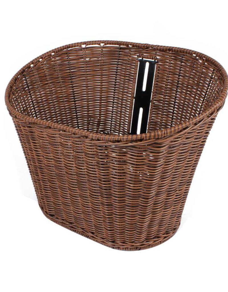 Scooter Works Wicker Front Basket, Buddy (BASKETBUD1WICKER)