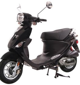 Genuine Scooters 2018 Black Genuine Buddy 125