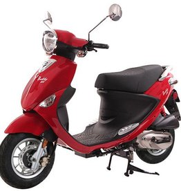 Genuine Scooters 2018 Red Genuine Buddy 125