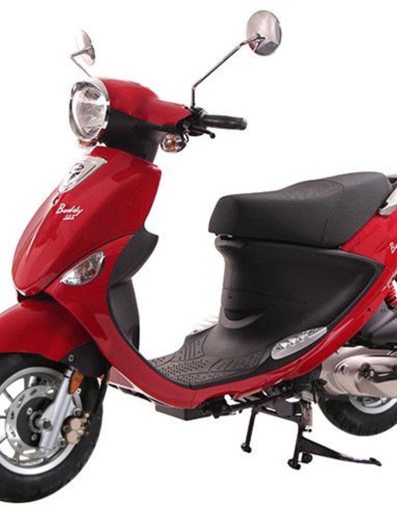 Genuine Scooters 2018 Red Genuine Buddy 125