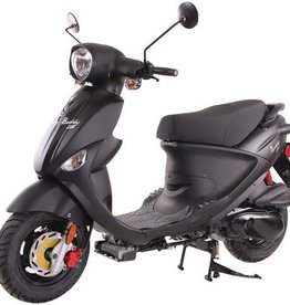 Genuine Scooters 2018 Matte Black Genuine Buddy 170i