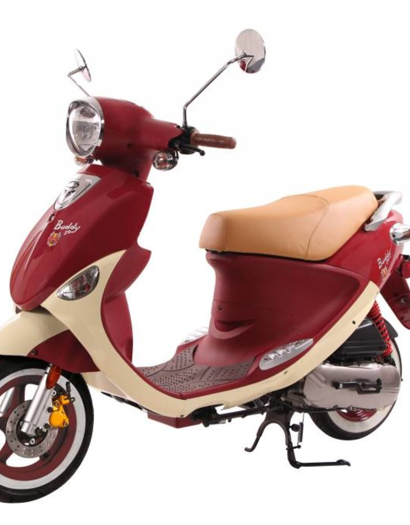 Genuine Scooters 2018 Genuine Buddy 50cc International Pamplona