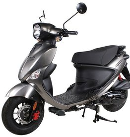 Genuine Scooters 2018 Gloss Titanium Genuine Buddy 170i