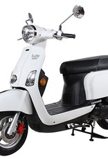 Genuine Scooters 2018 White Buddy Kick 125cc Scooter