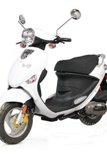 Genuine Scooters 2017 White Genuine Buddy 50cc Moped (#67)