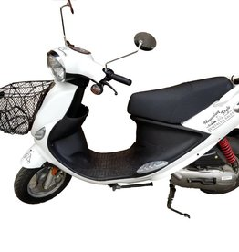Genuine Scooters 2017 White Genuine Buddy Basket (#B-31)