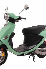 Genuine Scooters 2017 Seafoam Genuine Buddy 50cc Moped (#76)