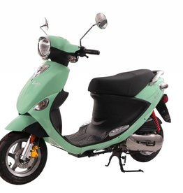 Genuine Scooters Seafoam Genuine Buddy 50cc Moped (#07) B.F.