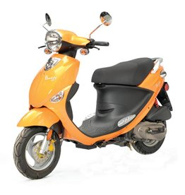 Genuine Scooters 2017 Tangerine Genuine Buddy (#91)