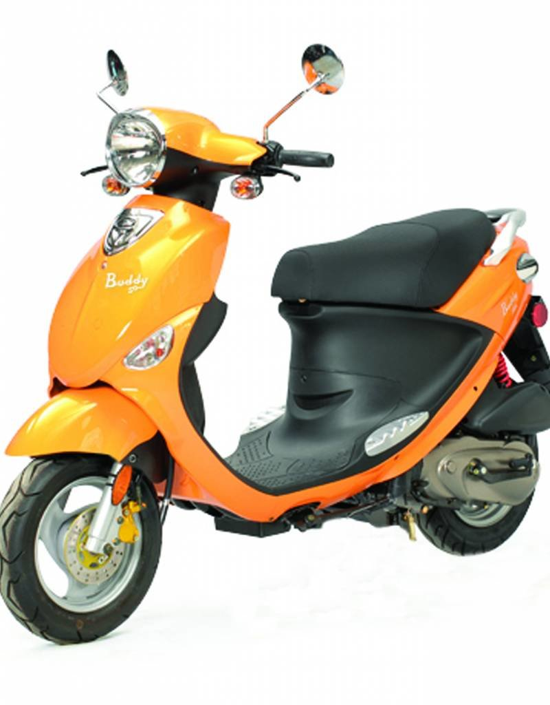 Genuine Scooters Tangerine Genuine Buddy (#89)