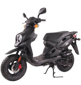 Genuine Scooters 2018 Black Genuine Roughhouse (#R-85)