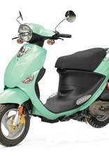 Genuine Scooters 2017 Seafoam Genuine Buddy 50cc Moped (#93)