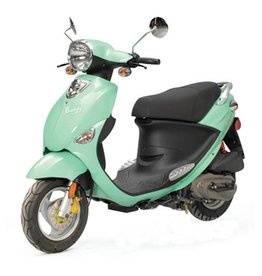 Genuine Scooters 2017 Seafoam Genuine Buddy 50cc Moped (#99)