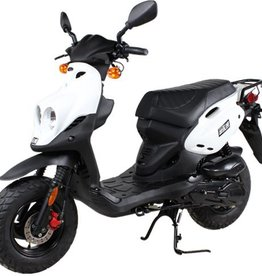 Genuine Scooters 2018 White Genuine Roughhouse (#R-91)