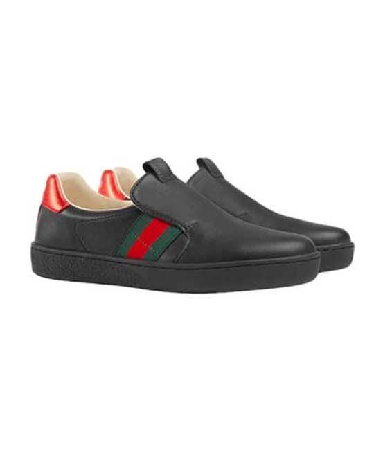 GUCCI GUCCI BOYS NEW ACE FIT SNEAKER