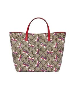 GUCCI GIRLS SYLVIE BOW TOTE