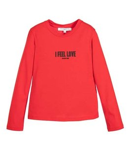 GIVENCHY GIRLS LONG SLEEVE TOP