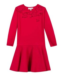 LILI GAUFRETTE GIRLS DRESS