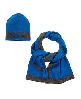 ARMANI JUNIOR BOYS HAT & SCARF SET
