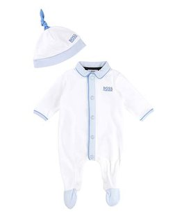 BOSS BABY BOYS ONESIE & HAT SET